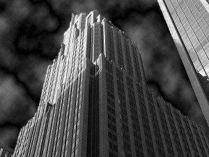 dark skyscraper 300x225 Adding a Sin City Effect to Your Images